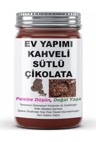 Spana Kahveli Sütlü Çikolata Ev Yapımı Katkısız 250 gr