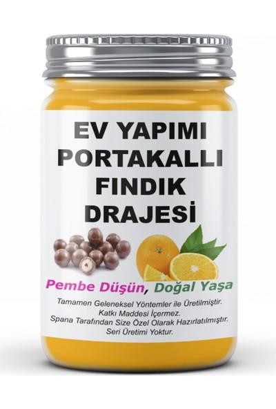 Spana Portakallı Fındık Drajesi Ev Yapımı Katkısız 250 gr