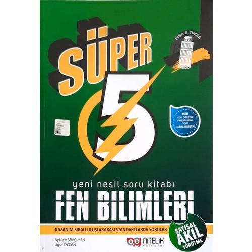 5.Sınıf Yeni Nesil Süper Fen Bilimleri Soru Kitabı Nitelik Yayınları