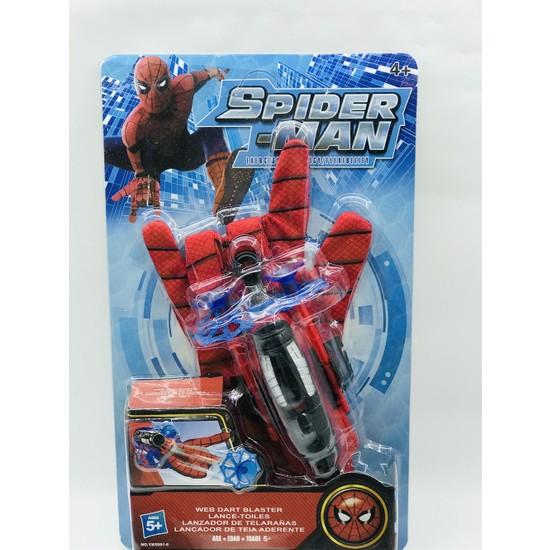 Kids Örümcek Adam Ağ Fırlatan Ok Atan Eldiven
