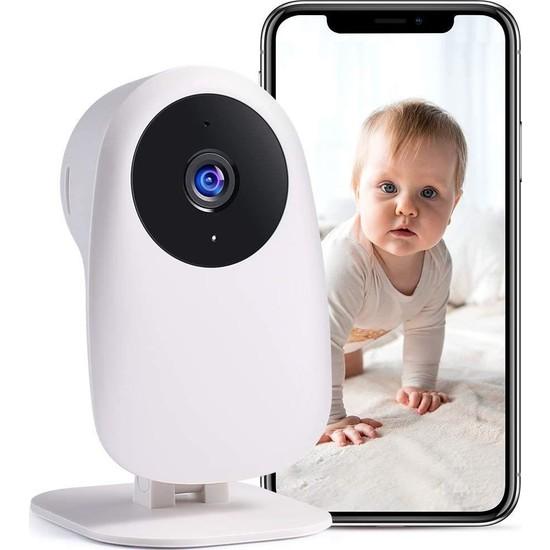 Nooie Kamera ve Ses ile Bebek Monitörü 1080P