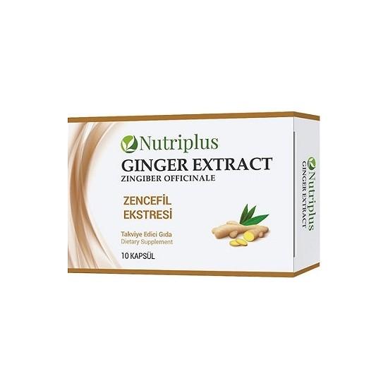 Farmasi Nutriplus Zencefil Exstresi 10 Kapsül