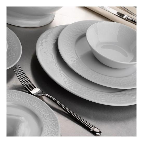 Kütahya Porselen Açelya Yemek Takımı Seti 18 Parça