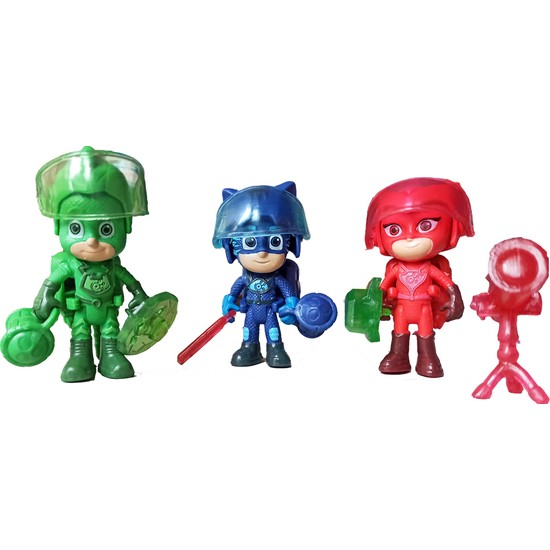 Kids Pijamaskeliler Aksesuarlı Uzay Macerası Seti - 3 Figür ve Aksesuarları