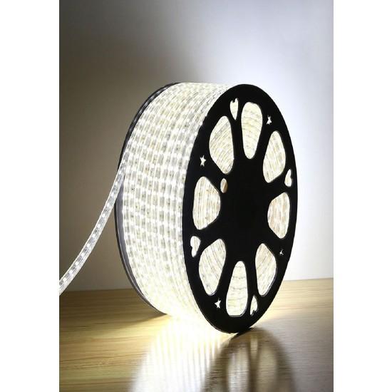 Real LED 220 V Hortum LED Dış Mekan Su Geçirmez 50 m