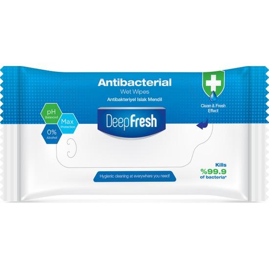 Deep Fresh Antibakteriyel Islak Cep Mendili 15 Yaprak
