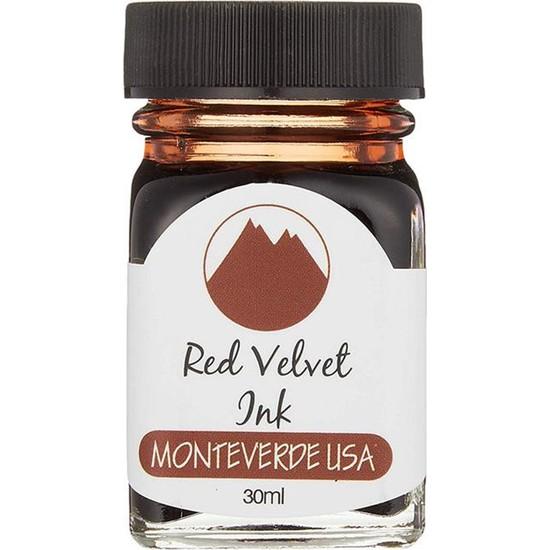 Monteverde G309RV Mürekkep 30 ml Red Velvet Ink