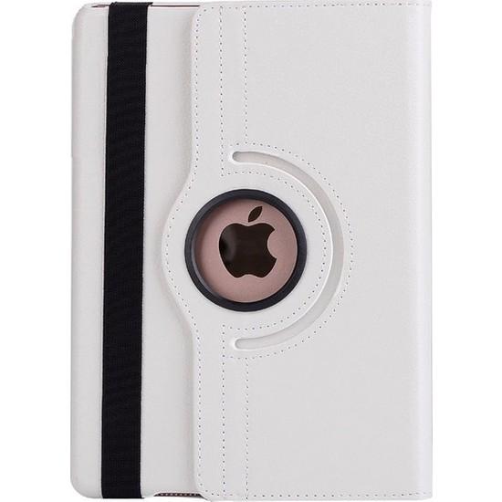 "Apple iPad 10.2"" 8.nesil (2020) Resistance Dönebilen Tablet Kılıfı 10.2 Inç (A2428/A2429/A2430) Beyaz"