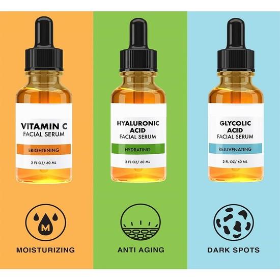 Lima Vitamin C & Hyaluronic Acid & Glikolik Asit