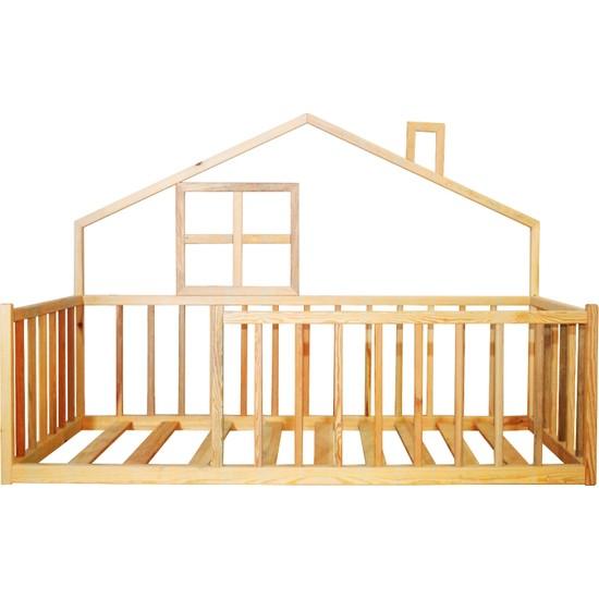 Ürün Şehri Montessori Yatak Doğal Ahşap Çocuk YATAK-CMY008
