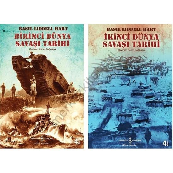 Birinci Ve İkinci Dünya Savaşı Tarihi 2 Kitap Basil Liddell Hart - Basil Liddel Hart