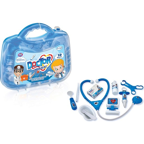 Hobi Toys Çocuk Medikal Doktor Seti (10 Parça)