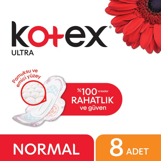 Kotex Ultra Normal Ped 8'li