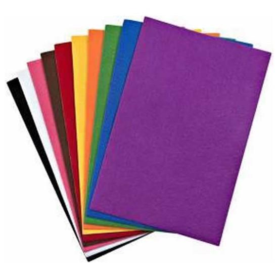 Gınza GN-0365 A4 Elişi Kağıdı Desenli Yapışkanlı 10 Lu Karışık Renk