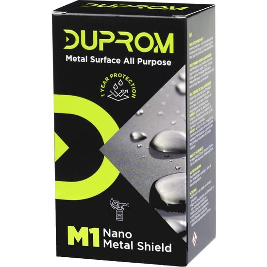 Duprom M1 Nano Metal Koruyucu Su İtici Sprey - Tüm Metal Yüzeyler - 1 Yıl Koruma 50 ml