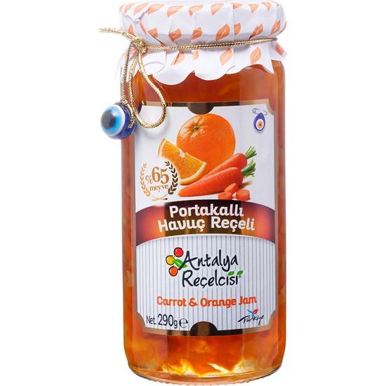 Antalya Reçelcisi 290 gr Portakallı Havuç Reçeli