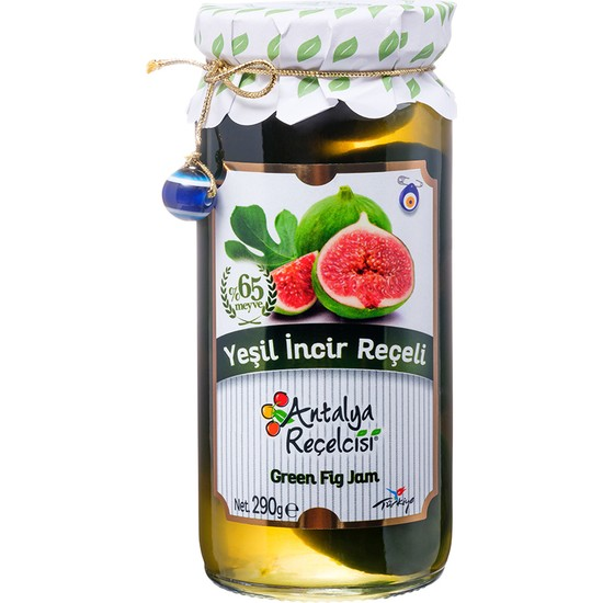 Antalya Reçelcisi 370 gr Yeşil Incir Reçeli