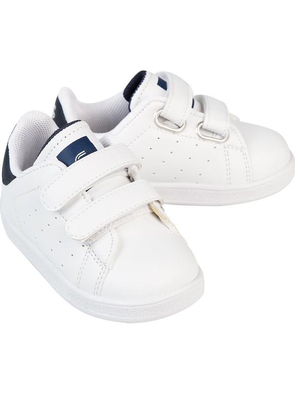 Sport Erkek Çocuk Spor Ayakkabı 21-25 Numara Beyaz
