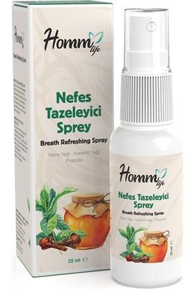 Homm Life Nefes Tazeleyici Sprey 25 ml