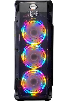 Dragos ATM9918951 Ryzen7 3700x 16GB Ram 240GB Ssd 4GB GTX1650 Ekran Kartı 23.6'' Monitör Bilgisayar