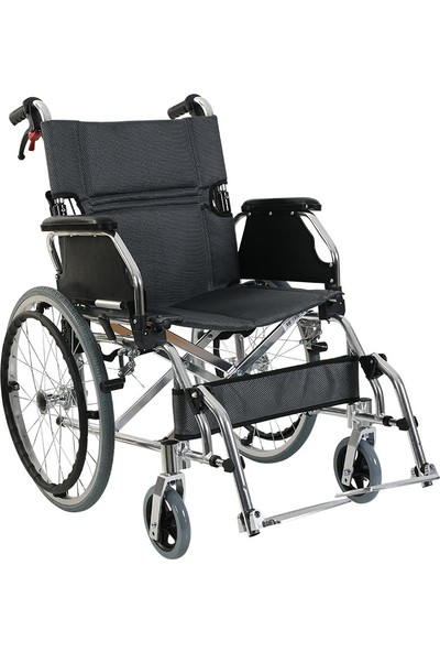Golfi̇ G-605 Alüminyum Manuel Transfer Tekerlekli Sandalye / Aluminum Manual Trasnfer Wheelchair