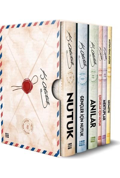 Atatürk Kitaplığı (6 Kitap Kutulu Set) - Mustafa Kemal Atatürk