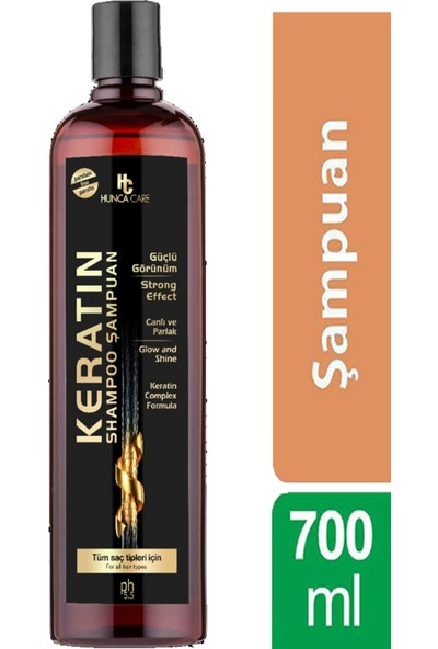 Hunca Care Keratin Şampuan 700 ml