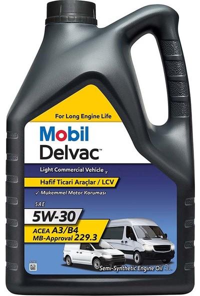 Mobil Delvac LCV 5W-30 5 Litre ( Üretim Yılı: 2021 )