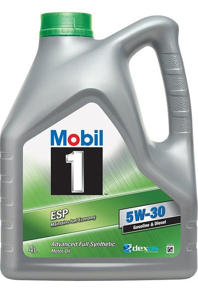 Mobil 1 Esp 5W-30 4Lt Dpf Araçlara Uygun Benzinli Dizel Motor Yağı (Üretim Yılı: 2020)