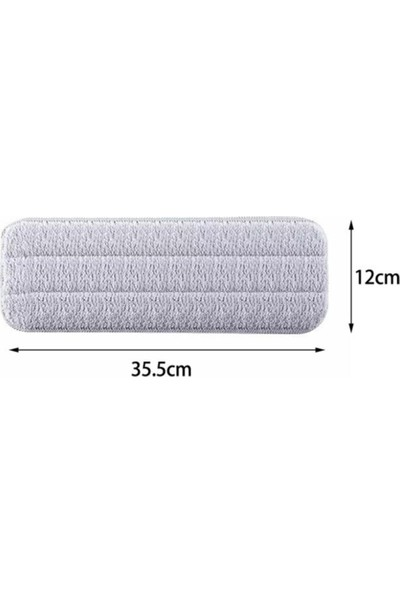Deerma 360 Derece Sprey Mop Paspas + 1 Yedek Mikrofiber Mop (İthalatçı Garantili)