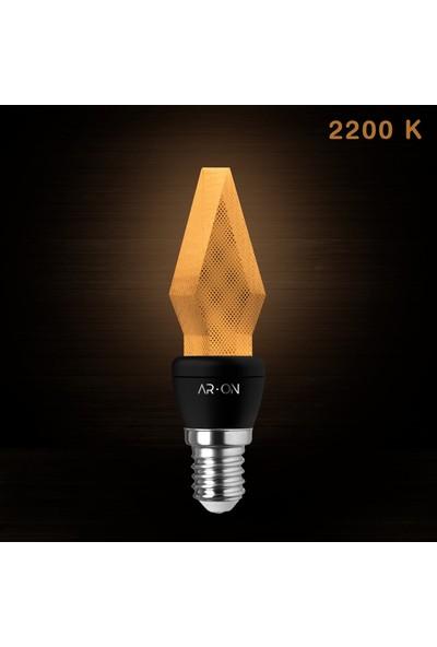 Ar-On LED Ampul MOD1004 E14 2200 Kelvin