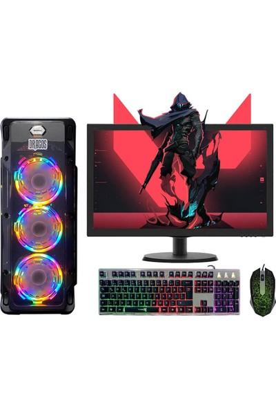 Dragos ATM9919056 Ryzen7 3700x 16GB Ram 240GB Ssd 6GB GTX1660 Ekran Kartı 23.6'' Monitör Bilgisayar
