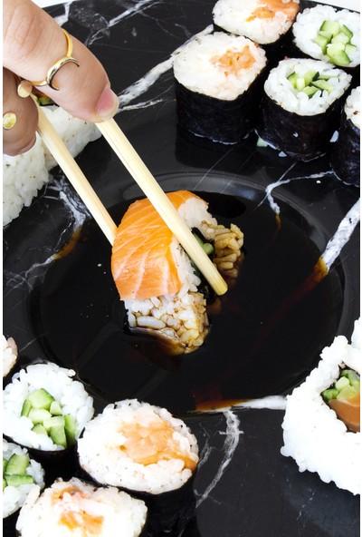 Marmosium Store - Sushi Sara - Mermer Suşi Tabağı