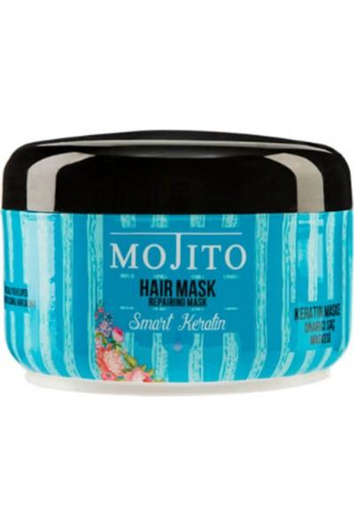 Mojito Keratin Içeren Onarıcı Saç Bakım Maskesi 500 ml