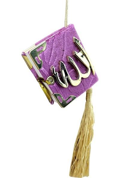Mini Kuran-ı Kerim Pembe Renk 10 Adet