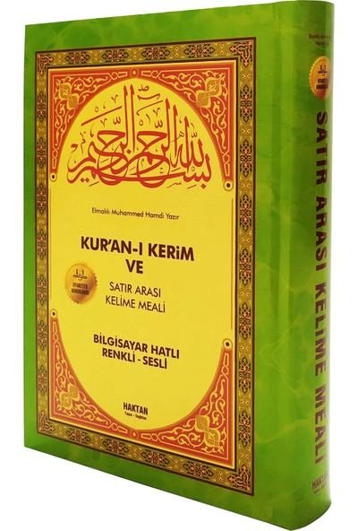 Satıraltı Türkçe Mealli Cami Boy Kuran-ı Kerim ve Meali