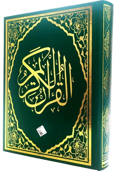 Yeşil Renkli Rahle Boy Kuran-ı Kerim
