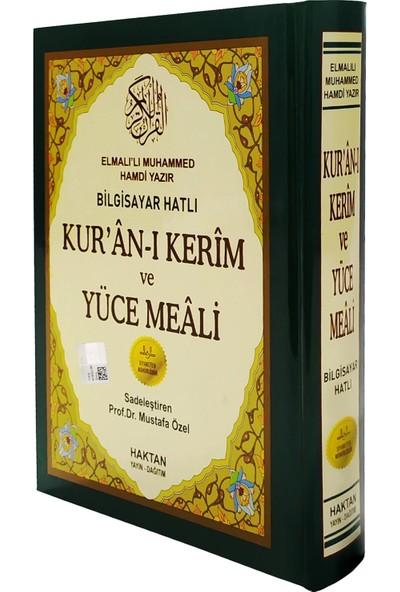 Mühürlü Kuran-ı Kerim ve Yüce Meali Hafız Boy