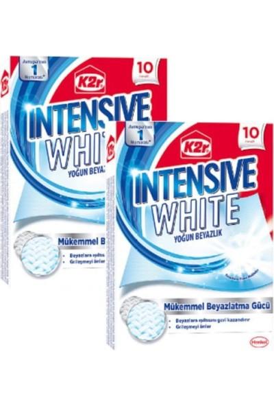 K2R Yoğun Beyazlık Mendili 10'lu x 2
