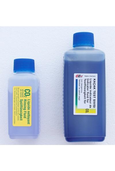Gem Co2 Silindir Conta Kaçak Arama Yedek Sıvısı 250 ml - 100 ml Durulama Sıvısı