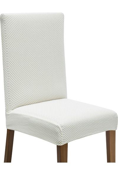 Latuda Likralı Yıkanabilir Taş Sandalye Kılıfı | Sandalye Örtüsü 6'lı