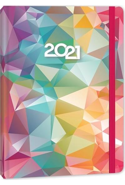 Keskin Color 2021 Haftalık Ajanda Candy