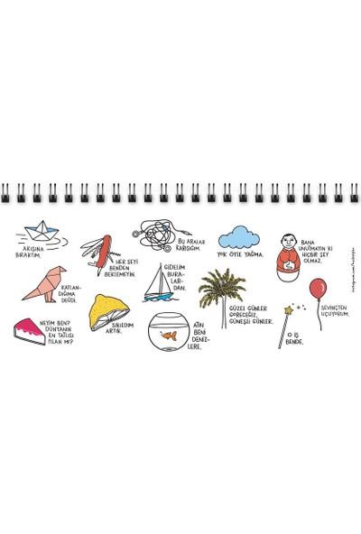 Keskin Color Hisli Şeyler Haftalık Planner - Akışına Bıraktım