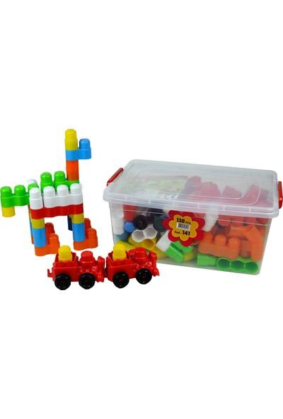 Efe Oyuncak Plastik 138 Parça Zeka Geliştirici Blok 141