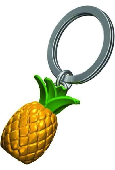 Metalmorphose Pıneapple Ananas Anahtarlık Sarı Yeşil