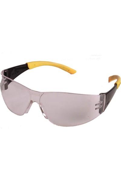 İsg Okulu Baymax S500 Şeffaf Koruyucu Çapak Işçi Gözlüğü
