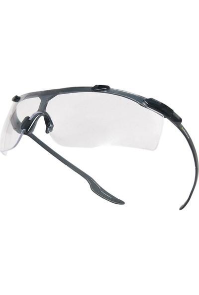 İsg Okulu Delta Plus Kıska Clear Şeffaf Iş Gözlüğü