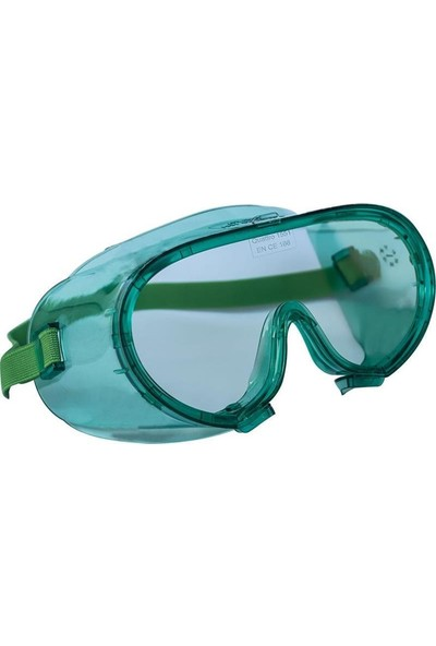 İsg Okulu Baymax S1551 Tam Kapalı Şeffaf Çapak Işçi Gözlüğü