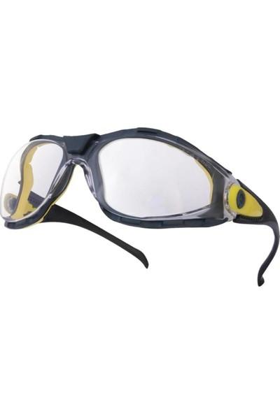 İsg Okulu Delta Plus Pacaya Clear Şeffaf Iş Gözlüğü