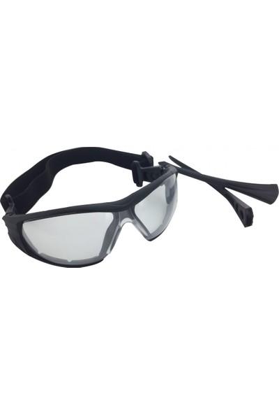 İsg Okulu Starline G-037A-C Şeffaf Antifog Koruyucu Iş Gözlüğü